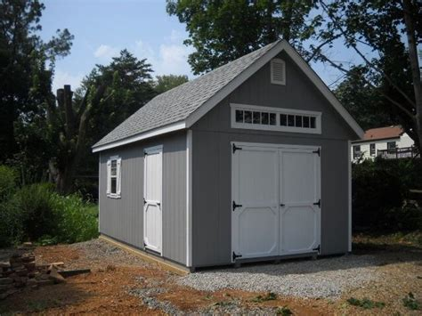 12x20 Shed by Amish Built 12x20 A Frame Storage Shed Garage With