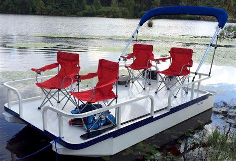 Small Pontoon Boat Ottawa by Pro Strike 126 Exr Mini Pontoon Boat Cottage Garden