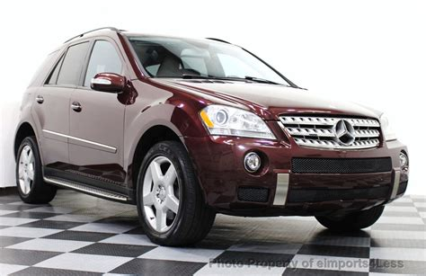 The ml550 replaces last years ml500. 2008 Used Mercedes-Benz ML550 V8 4MATIC AWD AMG SPORT ...