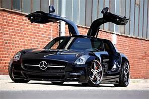 Auto Galeria  Czarny Mercedes Sls Samochody  Sportowe