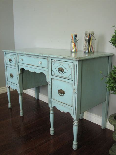 simply shabby chic desk european paint finishes shabby chic desk