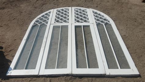 Vintage Arched Window Set   Recycling the Past