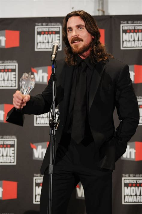 Christian Bale Gets Emotional About Wife Sibi Blazic