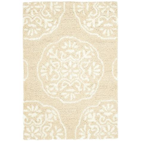 beige and white rug safavieh beige white 2 ft x 3 ft area rug bel711a