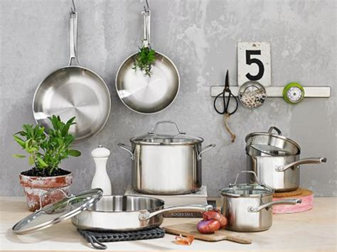 cookware steel stainless sets cooking kitchen pans pots pan calphalon guide pieces brand buying purchasec philippines classic brands essentials copper