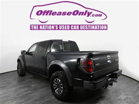 Off Lease Only Tuxedo Black Metallic 2014 FordF 150