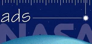 SAO/NASA ADS: ADS Home Page