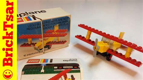 kaos lego lego vintage 2 classic lego 430 biplane from 1974 vintage set review