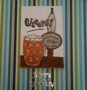 Cheers handmade mens birthday card   CardsMadeByHand ...