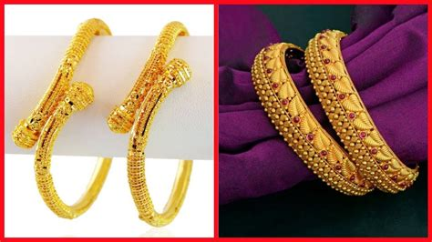 top 22k gold bangle kangan designs special designs youtube