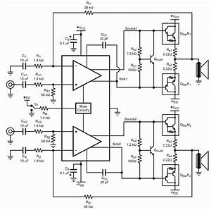 wwwamplifiercircuitinfo With 22w mono amplifier circuit diagram
