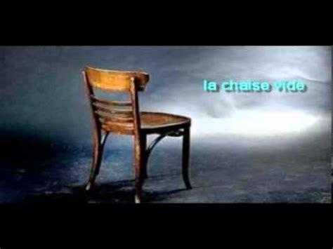 la chaise vide la chaise vide par le pasteur manix