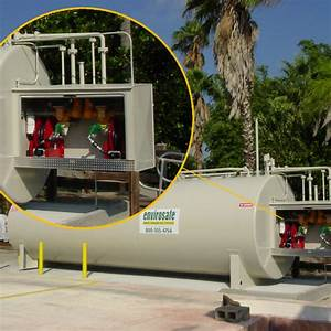 Commercial Fleet 6 000 Gallon Above Ground Fuel Storage