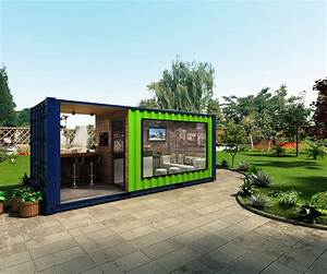 20ft shipping container coffee shop Pop-Up container