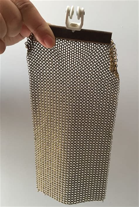 Chainmail Curtains With Four Styles For Various Effects
