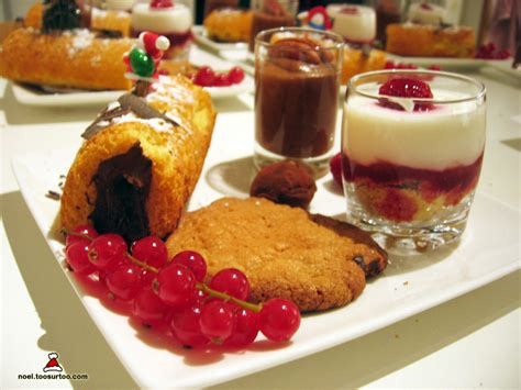 on toosurtoo dessert gourmet dish