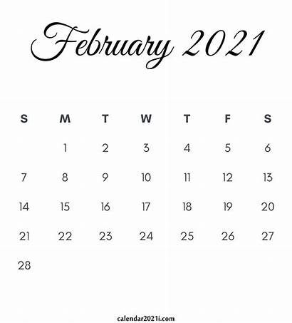 Calendar Printable February Monthly Calendars Month January