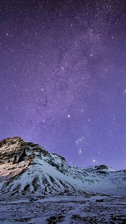 Iphone Plus Snow Stars Mountain Wallpapers 6s
