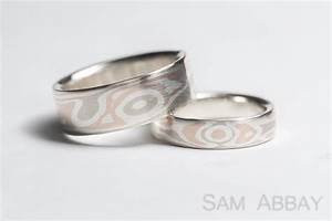 Mokume gane new york wedding ring for New york wedding ring