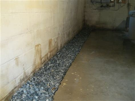 Basic Steps Of Installing A French Drain, Basement French