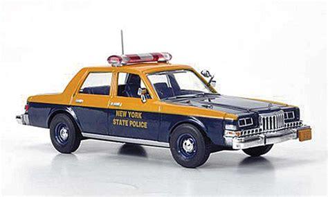 dodge diplomat  york state police   response