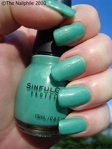 Simply Audrey  Nail Polish Review  Sinful Colors