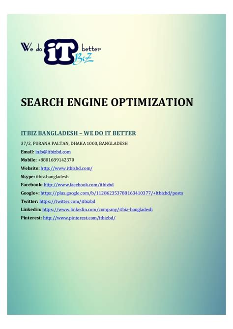 Search Engine Optimization Services by Search Engine Optimization Services Features
