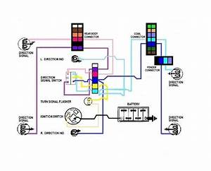 57 Chevy Color Wiring Diagrams