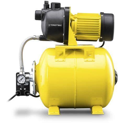 pompe a eau surpresseur trotec pompe surpresseur alimentation automatique en eau tgp 1025 e 4610000190
