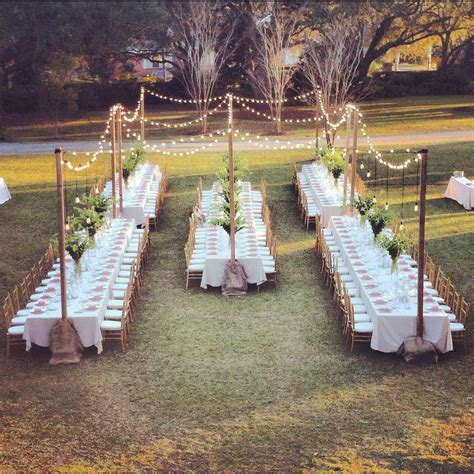 tried it tuesday and delicious wedding placeholder diy reception outdoor dining and dinners