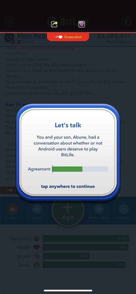 bitlife redd bitlifeapp hates hq someone android users reddit