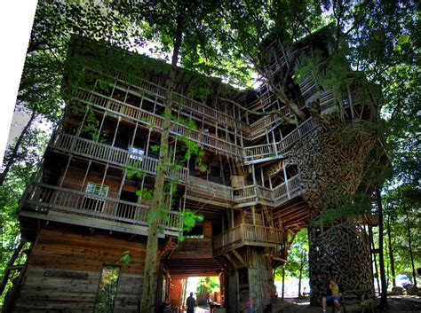 The Minister's Tree House, Crossville, Tn  Null Entropy