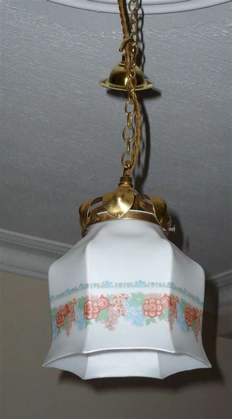 arts and crafts pendant light lighting hanging
