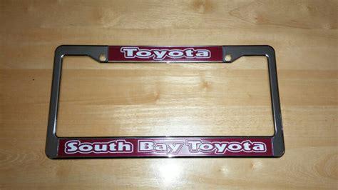 South Bay Toyota by みんカラ South Bay Toyota Usサイズナンバーフレーム ポルテ By Satosea3314