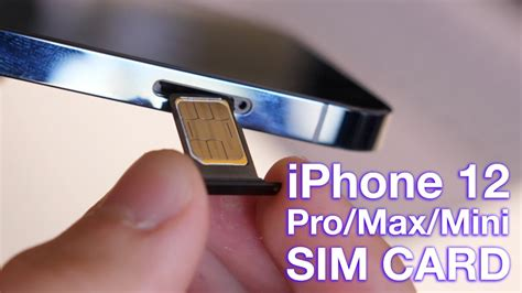 The sim card in your iphone is crucial to your making calls, but it's also small enough to lose, and easy enough to put in the wrong way. How to Insert/Remove SIM Card to iPhone 12 (Pro) - YouTube