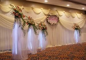 Buy Beautiful White Wedding Backdrop