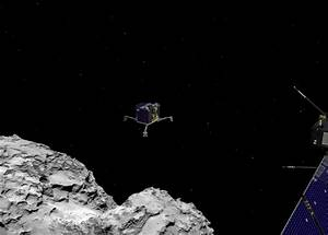 Philae Comet Scale City - Pics about space