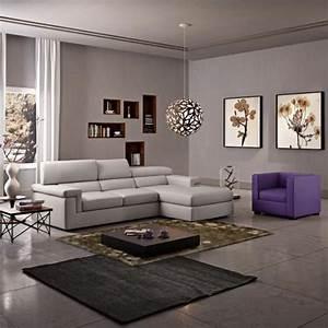 le canape poltronesofa meuble moderne et confortable With charming peinture couleur taupe clair 3 deco salon gris 88 super idees pleines de charme