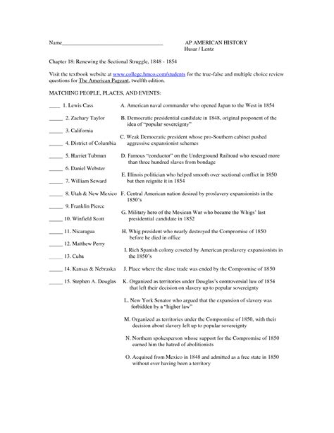 15 Best Images Of Us History Chapter 18 Worksheet  French Revolution Worksheets, Chapter 10