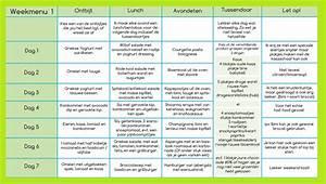 Snel afvallen dieet schema gratis