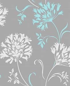 Grey turquoise wallpaper   Wallpapers   Pinterest ...