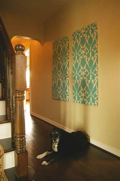 Fabric Panels Diy Paper Press Court Decor