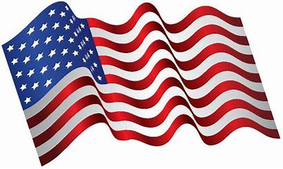 Flag American Usa Waving Clip America Transparent