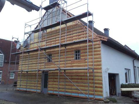 Fassade Günstig Verkleiden by D 228 Mmen Und Verkleiden Einer Fassade Spinne Bedachungen