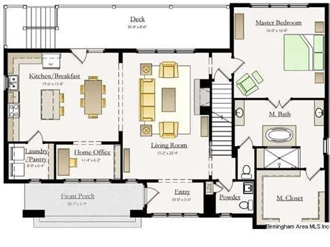 Closed Kitchen Floorplan