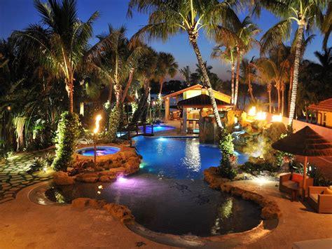outdoor lighting ideas around pool ktrdecor