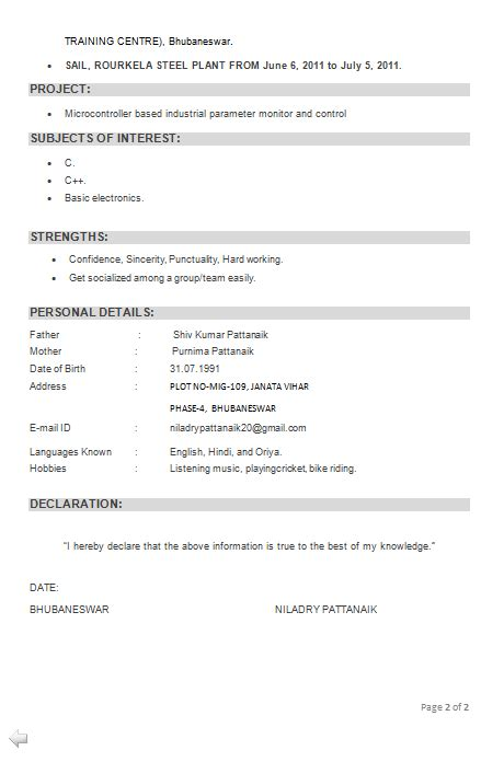 ece resume sample resume format for freshers ece engineers pdf dental