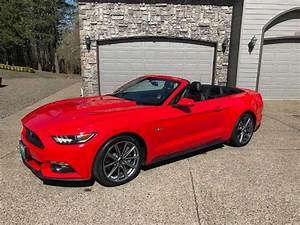 6th gen red 2015 Ford Mustang GT Premium convertible [SOLD] - MustangCarPlace