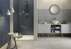 Abat Jour Salle De Bain : d couvrez les plus belles salles de bains bleues elle d coration ~ Melissatoandfro.com Idées de Décoration