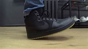 "ONFEET Nike Ebernon Mid Winter ""BlackGum"" (AQ8754-001 ...  Nike"